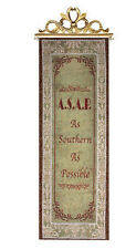 As Southern As Possible ~ A.S.A.P. Tapestry Wall Hanging Panel