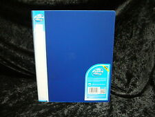 1 x Pukka Ringbinder 25mm Blue Polypropylene Ring Binder Folder File 7124PFL