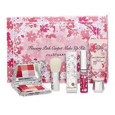 4 PCS Jill Stuart Flowery Pink Carpet Make Up Kit Blush+CC Cream+Lipstick+LipOil