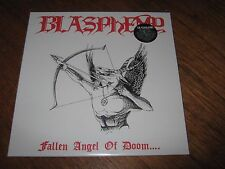 "BLASPHEMY ""Fallen Angel of Doom"" LP (White) beherit sarcofago"
