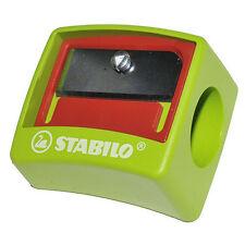 STABILO WOODY 3 IN 1 CHILD SAFETY JUMBO SINGLE HOLE PENCIL SHARPENER