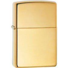 Zippo 169 high polish brass armor full size Lighter
