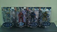 Joyride Halo 2 Limited Edition Lot of 4 SPARTAN Action Figures