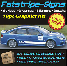 VAUXHALL VECTRA C STRIPES CAR GRAPHICS STICKERS DECALS SXI SRI 1.6 1.8 2.0 2.5 D