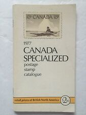 1977 Canada Specialized Postage Stamp Catalogue
