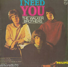 THE WALKER BROTHERS I Need You EP 1960's Mono