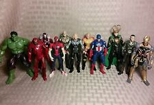 "3.75"" Marvel Universe Avengers Lot Captain America Thor Hawkeye Iron Man Movie P"