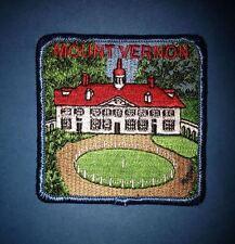 Vintage USA Virginia Mount Vernon Biker Campfire Blanket Travel Backpack Patch A