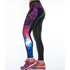 Womens Graphic Printed Yoga Pants Stretch Sport Leggings Jogger Workout Jeggings