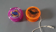 Duncan Butterfly and a PRO Competition Yo-yo with extra string