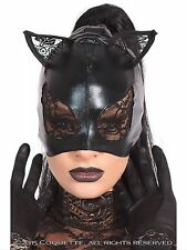 bdsm bondage restraints masquerade cat mask fetish