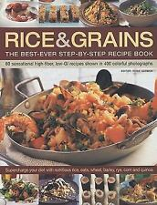 Rice & Grains: The Best-Ever Step-By-Step Recipe Book