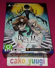 DEEMO THE LAST RECITAL LIMITED EDITION SONY PS VITA CHINESE & ENGLISH SUBS