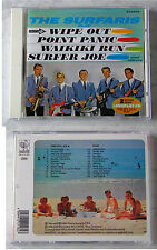 SURFARIS Play/Fun City USA - 2 Original-LPs With 24 Tracks On Repertoire CD TOP