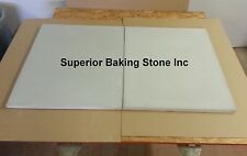 Set of 2  SUPERIOR BAKING STONES Will Fit BAKERS PRIDE EP8-3836 PIZZA OVEN