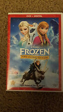 Frozen (DVD, 2014, Sing-Along Edition; Includes Digital Copy)