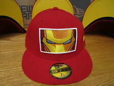 The Avengers Iron Man Zoomed In Marvel Comics New Era Hat Size 7 1/4 NWT 0289