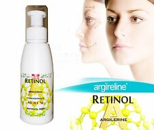 Anti wrinkle serum RETINOL A HYALURONIC ACID matrixyl 3000 Argilerine 100ml.