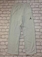 RARE NIKE JORDAN MENS UK S GREY JORDAN 23/7 FLEECE PANTS JOGGERS