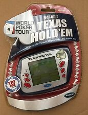 Radica No Limit Texas Hold Em World Poker Tour Electronic Handheld Game Sealed!