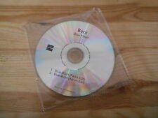 CD Pop Beck - Blue Moon (2 Song) Promo CAROLINE disc only