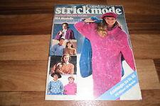CONSTANZE STRICKMODE -- 184 Modelle STRICKEN+STICKEN für HERBST-WINTER 1987/88