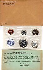 1958 1C-50C Proof Set US Mint Silver