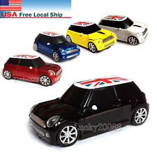 Mini Cooper BMW car 2.4Ghz Wireless Mouse USB Optical PC Laptop Computer Mice US