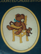 Sunset Counted Cross Stitch Kit LITTLE BEAR AND BEAR