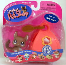 2007 NIP EXCLUSIVE Littlest Pet Shop Chocolate CHINCHILLA #314 FREE SH US SELLER