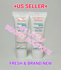 AVENE CLEANANCE MASK Mask Scrub Oily Blemish Prone Skin Acne Control 2x10ml NEW