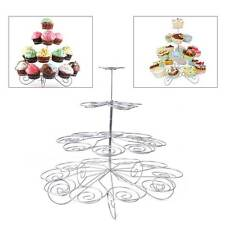 4 Tier 23 Cupcake Cake Dessert Stand Holder Tower Display Wedding Birthday Party