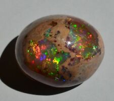 13CT MEXICAN STONE 100% NATURAL INTENSE FIRE OPAL FLAMING / GEMS OPALS JEWELRY