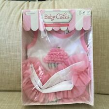 Baby Aspen, Baby Cakes 2-Piece Cupcake Outfit tunic and bloomers, 0-6 Months