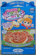 Yummy Nummies Dinner Delights ~ Pizza Party Maker ~ Makes 10 Mini Pizzas