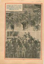 Courses Cycliste Cycling Racing Vélo Paris-Tours Marcel Rioual 1931 ILLUSTRATION