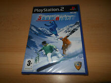 Snow Rider Sony Playstation 2 PS2  Snowboarding Game SEALED