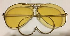 NEW WOT VINTAGE U.S. OPTICS MENS AVIATOR SHOOTING SUNGLASSES MADE IN JAPAN