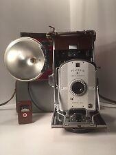 Vintage Polaroid  Land Camera Model 95B Polaroid Case, Flash & Light Meter