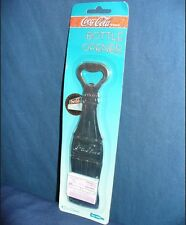 1995 Coca Cola Flat Bottle Opener MINT Coke Zinc Plated JFC1 Original Unopened