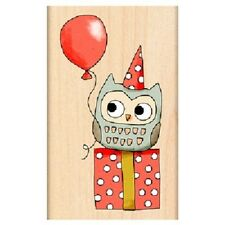 PENNY BLACK RUBBER STAMPS OWL AT MIMI'S PARTY NEW STAMP 2013