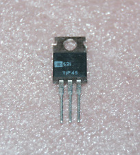 5) TIP48 NPN Power Transistor 300V 1A TO-220 Solid State