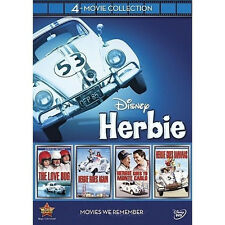 Classic Disney Herbie: 4-Movie Disc Collection [DVD 2012, 4 Discs] FREE SHIPPING