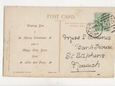 Miss E Downes Bank House St Stephens Norwich 1904 162b