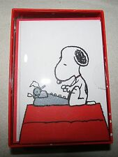 PEANUTS SNOOPY GRAPHIQUE de FRANCE 16 BLANK NOTE CARDS SET