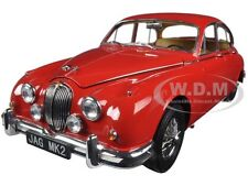 1962 JAGUAR MARK 2 3.8 CARMEN RED LHD 1/18 DIECAST MODEL CAR BY PARAGON 98322