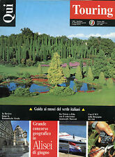 * QUI TOURING N° 6/ GIU/1993 * GUIDA AI MUSEI DEL VERDE ITALIANI * IN BAVIERA