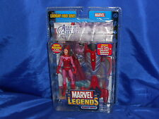 Marvel Legends Scarlet Witch Act Fig Legendary Rider Series Sealed Toy Biz 2005