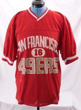 Logo 7 63388 U.S.A. Vintage Joe Montana #16 San Francisco Jersey Men's L