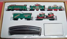 MATCHBOX HO Holiday Express Train Set w/ 2 Ltd. Edition Ford MB-44 Model T Vans